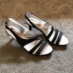 Black Sparkley High Heels